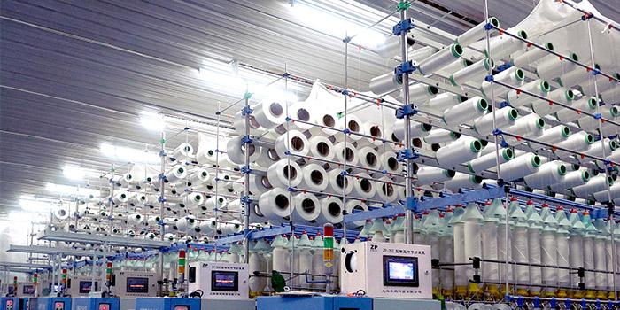上海包芯纱装置有怎样的优点?