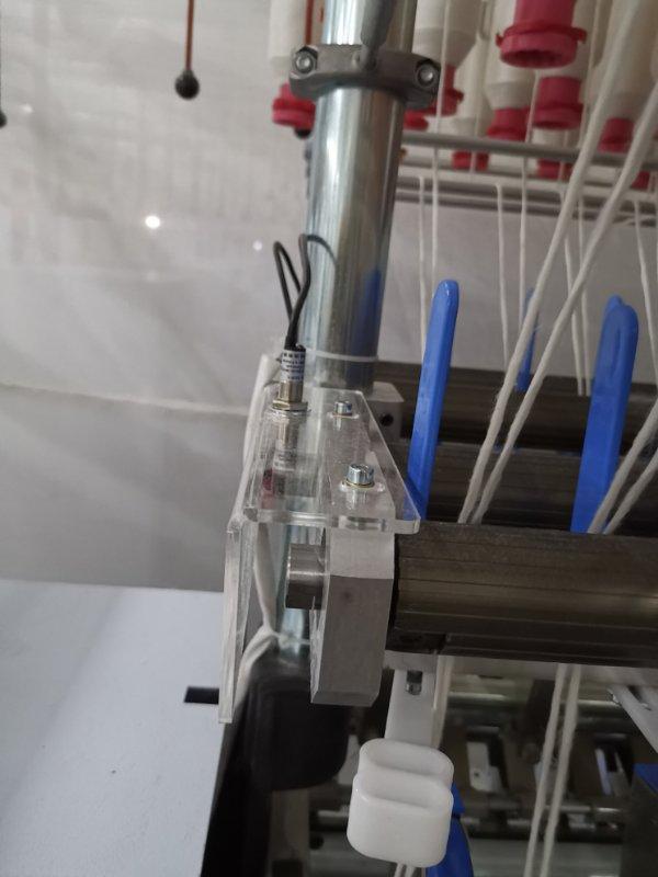 卓鹏科贸包芯纱装置改造