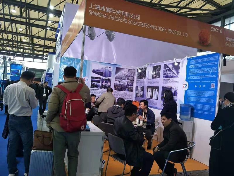 上海卓鹏2019上海国际纺机展