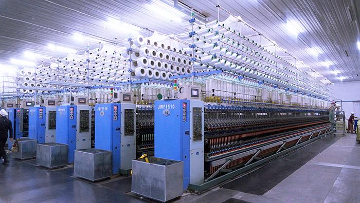 卓鹏为山东岱银纺织提供单锭断丝在线检测服务!