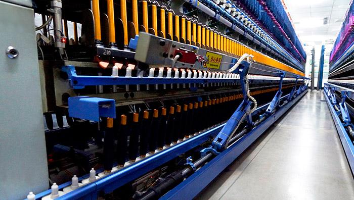 卓鹏为鲁泰纺织提供自动集体落纱装置改造服务!