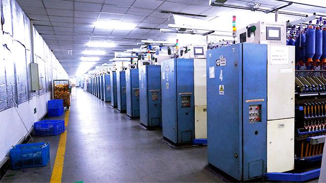 卓鹏为天虹纺织提供智能纺纱装置改造升级服务!